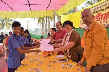 Annual Sports 2019 Certificate distribution