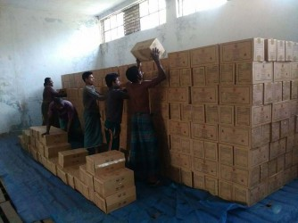 HEB stoking at Satkhira Warehouse