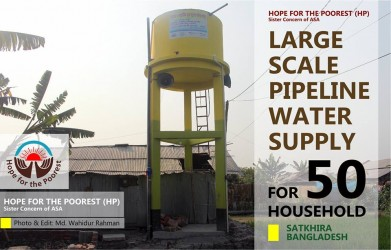 Large Scale Pile Line Water Supply System