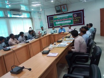 Project Lunching Program at Satkhira District