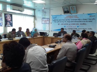 District Level SRHR workshop