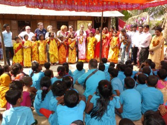 Celebration at Community Primary School