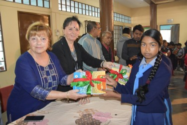 Italain Friend handed over books to students 2019