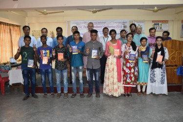 SSC Passed Students Gathering 2019 : Students who achived GPS-5 are awarded