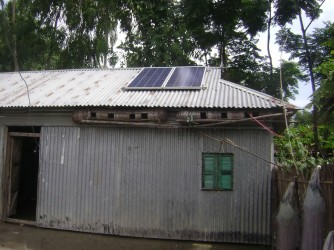 Rural Electrification Project- Solar Panel