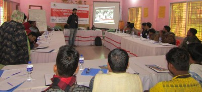 youth employees training on decent work